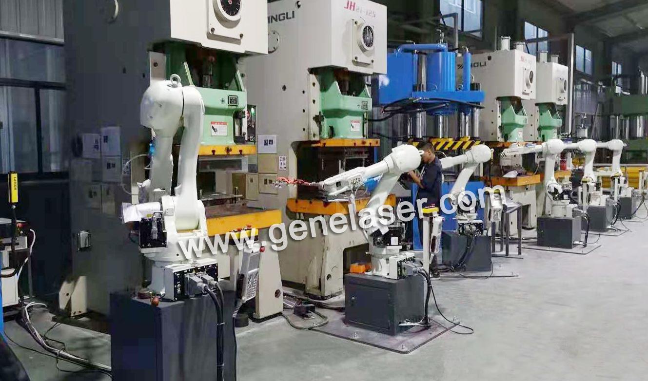 苏州智殷自动化有限公司冲压机器人车床上下料机器人