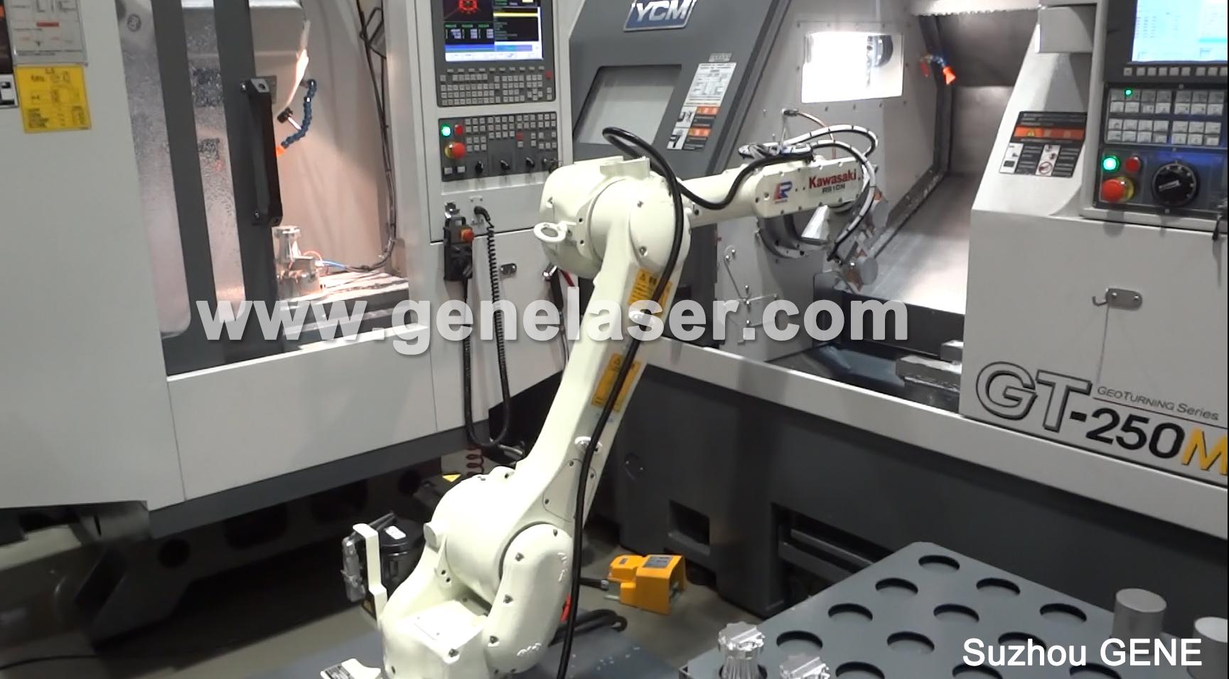 苏州智殷CNC机械手-上下料机械手-搬运机械手-压铸机械手