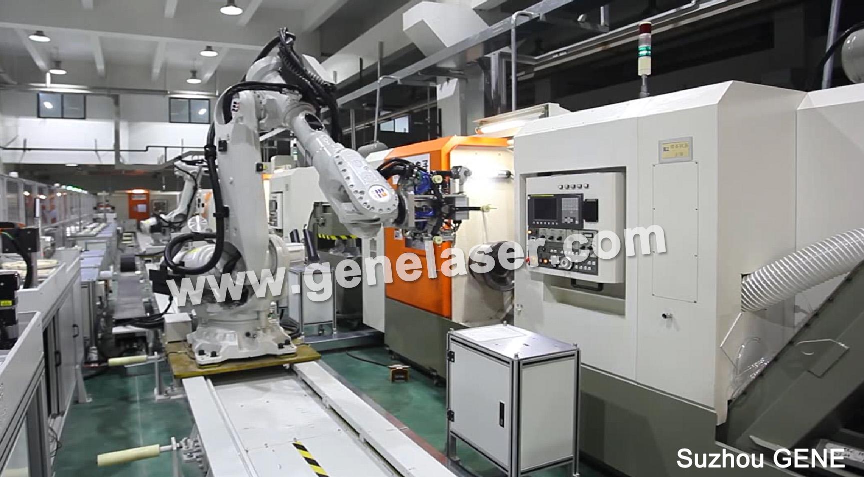 苏州智殷CNC机械手-上下料机械手-搬运机械手-压铸机械手-02