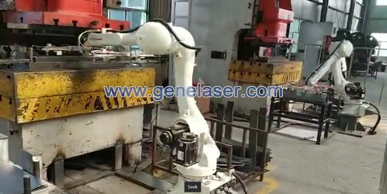 机器人冲压上下料 机器人自动化上下料