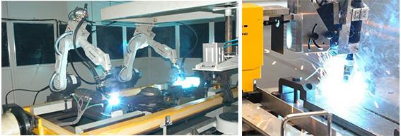 苏州智殷车架焊接工业机器日恩工站-全自动焊接机器人-车架焊接